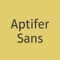 Aptifer Sans Poster