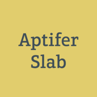Aptifer Slab