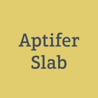 Aptifer Slab