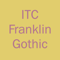 Franklin Gothic Book Compressed