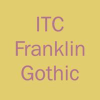 ITC Franklin Gothic