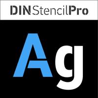 PF DIN Stencil Pro