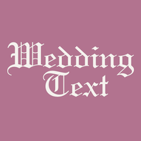 Wedding Text