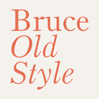Bruce Old Style Poster