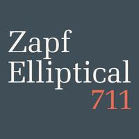 Zapf Elliptical 711