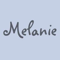Melanie BT Poster