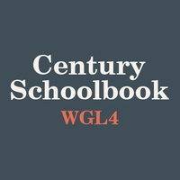 Century Schoolbook WGL4