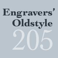 Engravers' Oldstyle 205