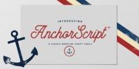Anchor Script Font Download