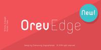 Orev Edge Font Download