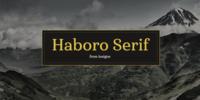 Haboro Serif™ Font Download