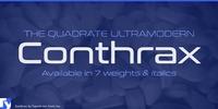 Conthrax Font Download