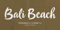 Bali Beach Font Download