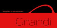 Grandi Font Download