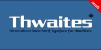 Thwaites Font Download