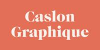 Caslon Graphique Font Download