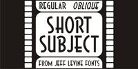 Short Subject JNL Font Download