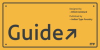 Guide Font Download