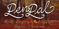 PenPal™ Font Download
