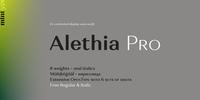 Alethia Pro Font Download