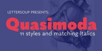 Quasimoda Font Download
