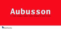 Aubusson Font Download
