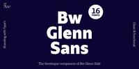 Bw Glenn Sans Font Download