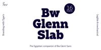 Bw Glenn Slab Font Download