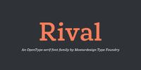 Rival Font Download