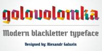 Golovolomka Font Download
