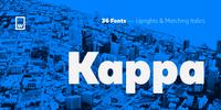 Kappa Font Download