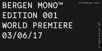 Bergen Mono™ Font Download