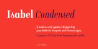Isabel Condensed Font Download
