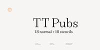 TT Pubs Font Download