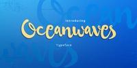 Oceanwaves Font Download
