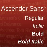 Ascender Sans