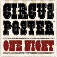 Circus Poster Shadow