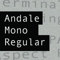 Andale Mono