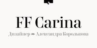 FF Carina Font Download