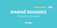 Mariné Rounded Font Download
