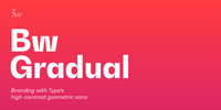 Bw Gradual Font Download