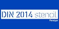DIN 2014 Stencil Font Download