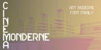 Cinema Moderne Font Download