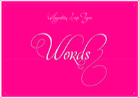 Mon Amour Words
