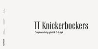 TT Knickerbockers Font Download