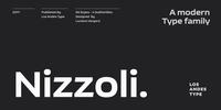Nizzoli Font Download