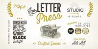 Letterpress Studio™ Font Download