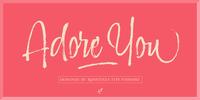 Adore You Font Download