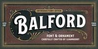 Balford Font Download