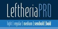 LeftheriaPRO Font Download